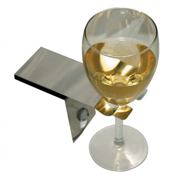 Bathtub wine glass holder review