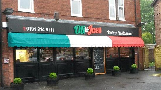 Review: Oli & Joes Italian Restaurant, Westerhope