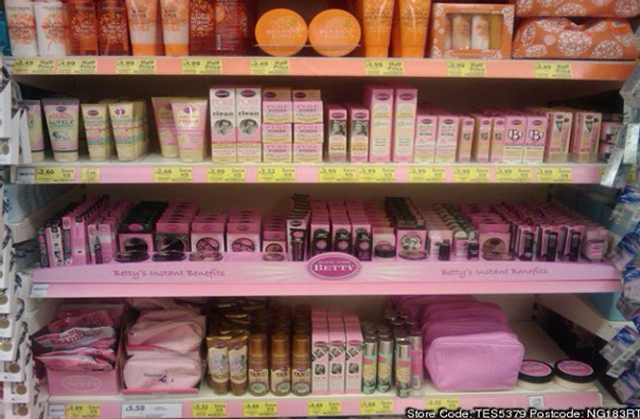 What happened to Tesco's Along Came Betty range?